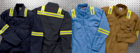G&K's new flame resistant enhanced visibility uniforms offer Protection You Can See (Photo: Business Wire).
