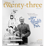 "The Spring 2014 issue of ""Disney twenty-three"" celebrates Disney's contributions to the 1964-65 World's Fair in New York. (Photo: Business Wire)"