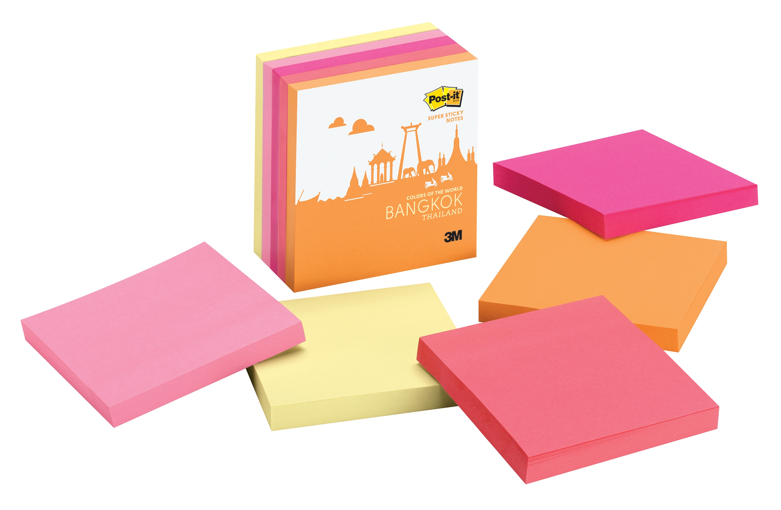 The Bangkok Color Collection from the new Post-it Brand Colors of the World Collection (Photo: Business Wire)