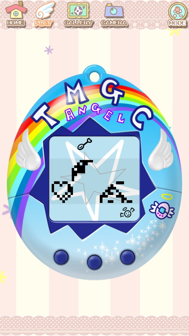 The FREE new Tamagotchi L.i.f.e. Angel app, a technologically updated version of the original digital handheld game series, will launch on Wednesday, Feb. 26th in the U.S. and Canada for both iOS and Android devices.