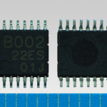 "Toshiba: ""TC78B002FNG"", a digital-control and sinusoidal-wave fan motor driver IC (Photo: Business Wire)"