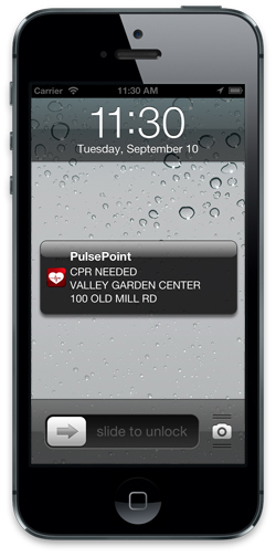 PulsePoint CPR Notification (Photo: Business Wire)