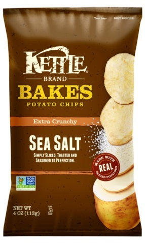 Kettle Brand Bakes Sea Salt Potato Chips (Photo: Business Wire)