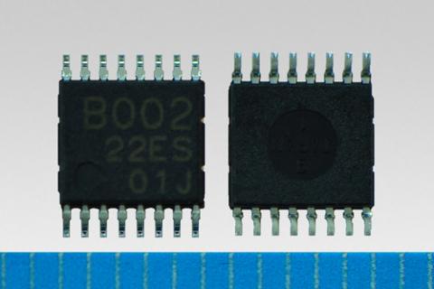 "Toshiba: ""TC78B002FNG"", a digital-control and sinusoidal-wave fan motor driver IC (Photo: Business W ..."