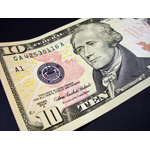 President Alexander Hamilton on the $10 bill (Photo: Business Wire)