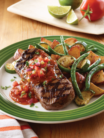Applebee's Citrus Lime Sirloin (Photo: Business Wire)