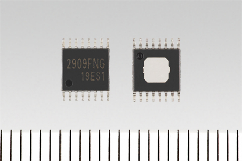 """Toshiba: """"TB2909FNG"""", an audio power amplifier IC for electric vehicle warning sound systems in HEVs and EVs (Photo: Business Wire)"""