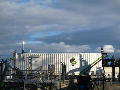ACT's SRS? installation in a WWTP (Wastewater Treatment Plant) in Dunbar, Scotland (Photographer: Oh ...