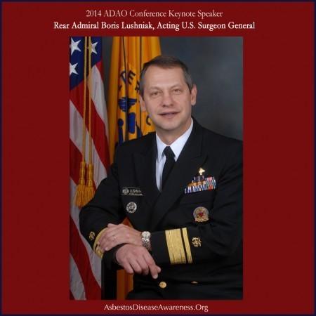 Rear Admiral (RADM) Boris D. Lushniak, M.D., M.P.H., Acting United States Surgeon General (Photo: Business Wire)