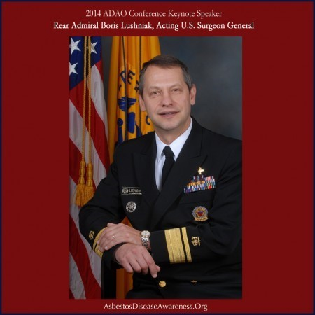 Rear Admiral (RADM) Boris D. Lushniak, M.D., M.P.H., Acting United States Surgeon General (Photo: Business Wire)