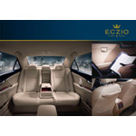 The ECZIO Premium Rear Seat Package includes first-class comfortable