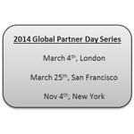 2014 Global Partner Day Series (Graphic: Business Wire)