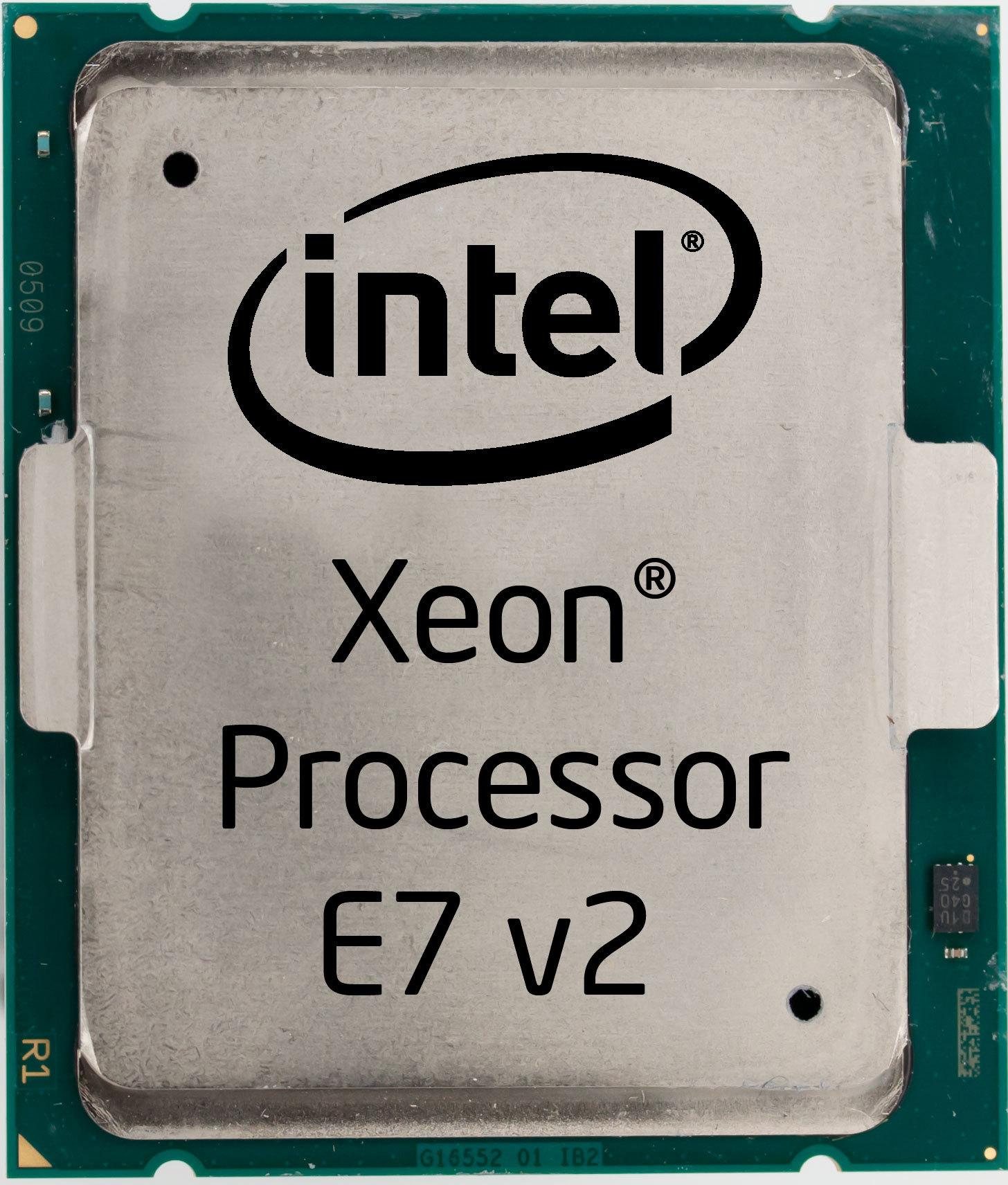 Intel Processors Logo Intel® Xeon® Processor e7 v2