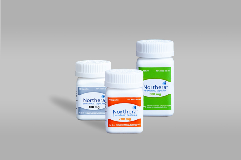 NORTHERA(TM) (droxidopa) is available in 100mg, 200mg and 300mg capsules. (Photo: Business Wire)
