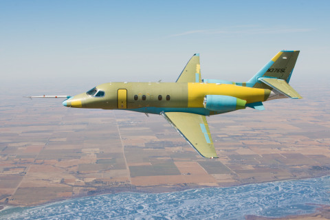 Cessna's Citation Latitude completes successful first flight. (Photo: Business Wire)