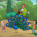 "PBS KIDS has announced a week of new adventures with the Cat in the Hat to celebrate Dr. Seuss' birthday. ""Dr. Seuss' Birthday Cat-ebration"" kicks off on Monday, March 3, with the debut of a one-hour THE CAT IN THE HAT KNOWS A LOT ABOUT THAT! special. (Image Credit: Series copyright 2010, CITH Productions, Inc. and Red Hat Animation, Limited. Underlying characters copyright 1957, 1985 Dr. Seuss Enterprises, L.P.)"