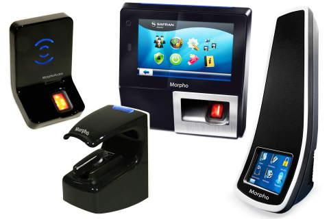 Morpho Biometric Fingerprint, Fusion Fingerprint + Vein and Facial Recognition readers now interface with Lenel OnGuard. (Photo: Business Wire)