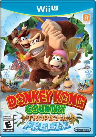 Donkey Kong Country: Tropical Freeze box art (Photo: Business Wire)