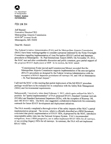 FAA letter to the Metropolitan Airports Commission