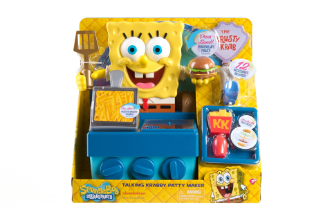 SpongeBob SquarePants Talking Krabby Patty Maker