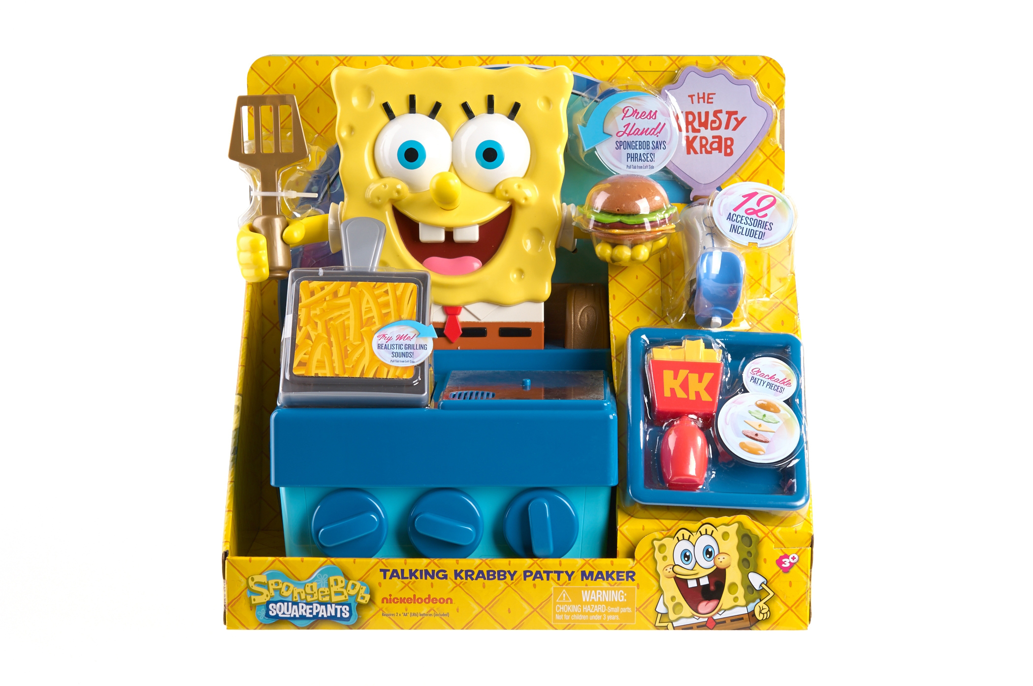 Nickelodeon Unveils Robust SpongeBob SquarePants Toy and