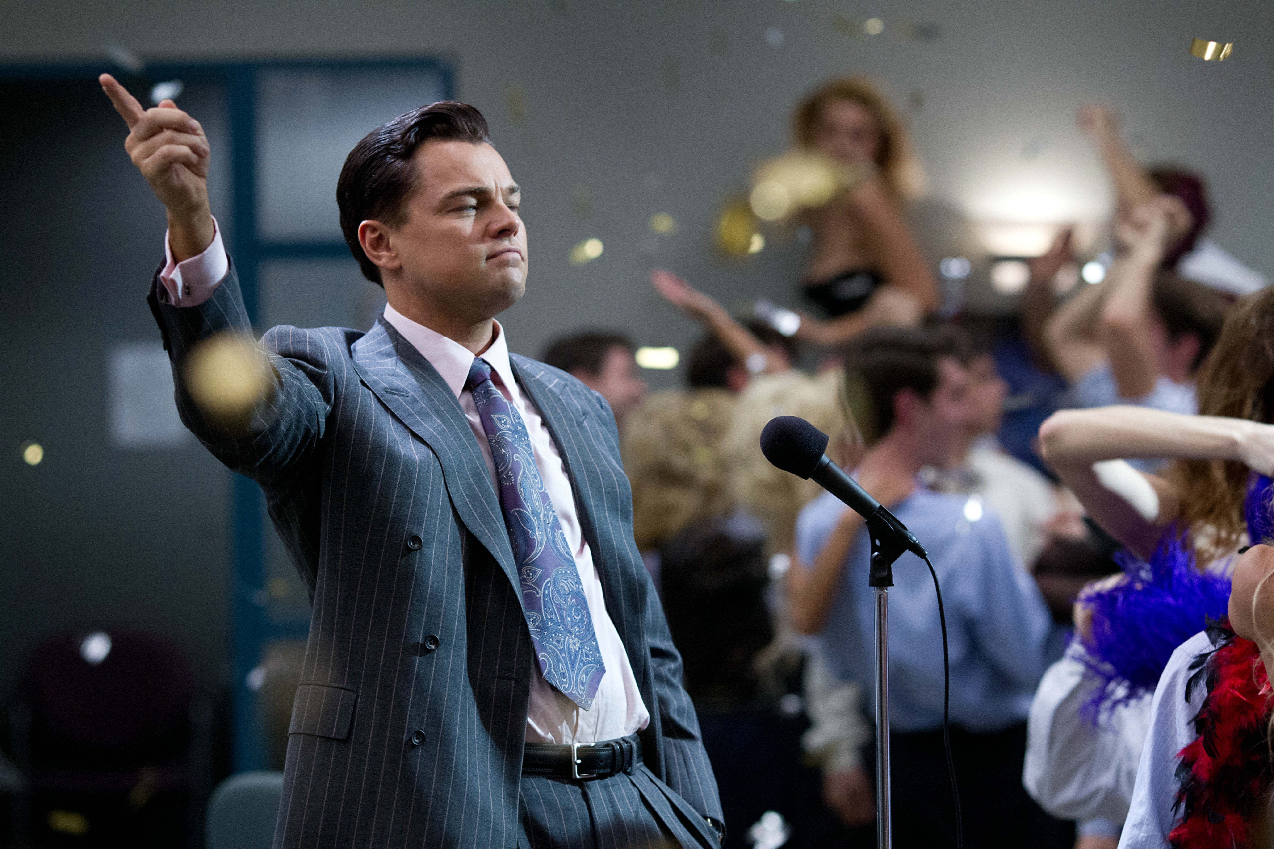 Nominated for 5 Academy Awards® Including Best Picture, Best Director and Best Actor, THE WOLF OF WALL STREET Debuts on Blu-ray™ Combo Pack March 25, 2014 and on Digital HD March 18 (Photo: Business Wire)