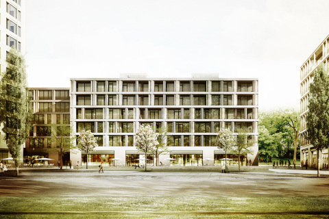 Expected to open in 2017, Andaz Munich will be developed in central Munich in a cultural district known as Schwabinger Tor. Photo Credit: Jost Hurler Group 2014