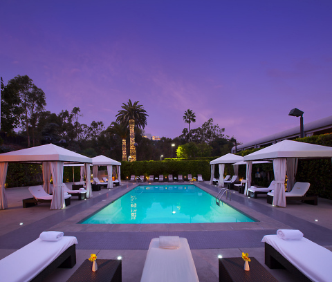 Luxe Sunset Boulevard Hotel in Los Angeles, California. (Photo: Business Wire)