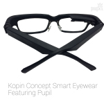 Kopin's natural looking concept smart eyewear. (Photo: Business Wire)