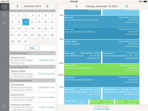 CareCloud Companion Scheduling Screen (Photo: Business Wire)
