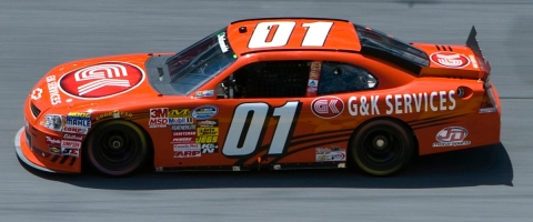 G&K Services will Sponsor JD Motorsports' Landon Cassill in the 2014 NASCAR Season (Photo: Anthony Z ...