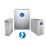 LaCie d2, 5big and 2big Thunderbolt Series (Graphic: Business Wire)