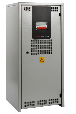 New compact rectifier mSPRe by AEG Power Solutions. (Photo: Business Wire)