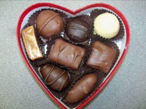 The box of candy looks like this. (Photo: Business Wire)