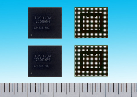 "Toshiba: ""TZ5000 series"" of ApP Lite(TM) processors supporting wireless communication of high quality video (Photo: Business Wire)"