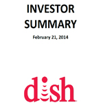 2013 Investor Summary - Feb. 21, 2014