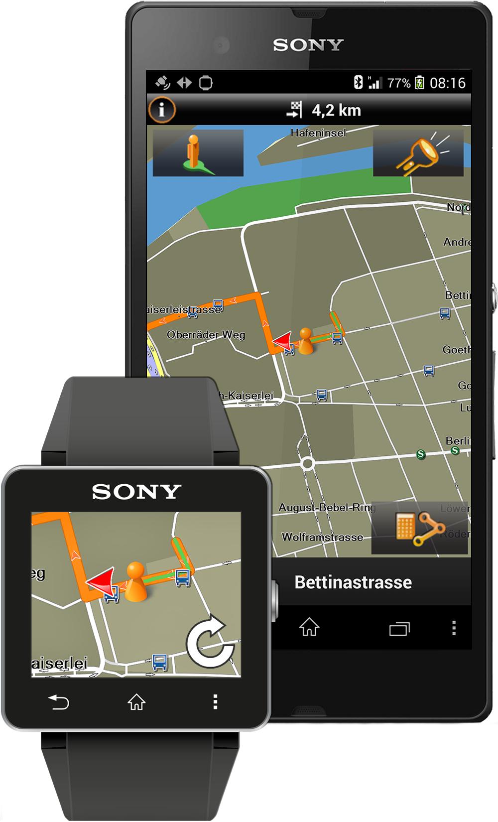 Garmin® Announces Premium Navigation App for Xperia
