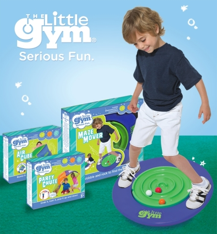 Canadian families can now bring home a piece of The Little Gym experience as the brand's first line of active toys are now available at Target Canada stores. The Little Gym toys, including Maze Mover, Air Cube, and PartyChute, emphasize physical development, imaginative play patterns, and experiential learning. (Photo: Business Wire)