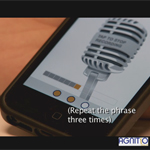 AGNITiO demonstrates the simplicity and security of Voice iD on mobile devices.