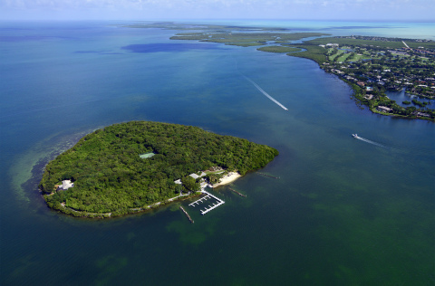 Pumpkin Key, 26-Acre Private Island in Florida Keys Listed for $110 Million. (Photo: Business Wire)