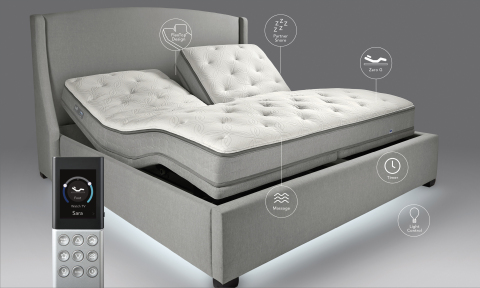 The Sleep Number c4 bed has superior comfort, support and pressure relief, and features Advanced Dua ...