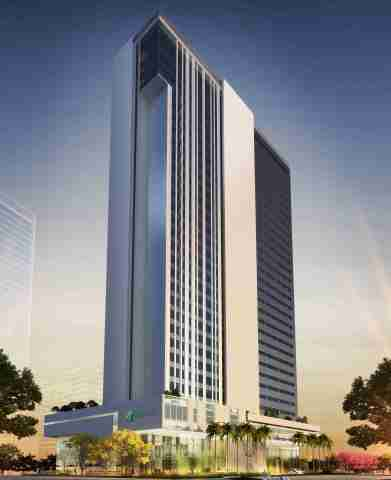 IHG announces expansion of Holiday Inn® brand family in Brazil with the signing of the new-build Holiday Inn® Porto Maravilha and Holiday Inn Express® Porto Maravilha hotels. (Photo: Business Wire)
