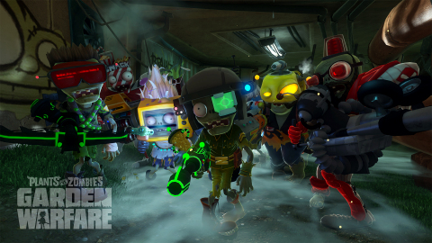 Plants vs. Zombies Garden Warfare Characters (Graphic: Business Wire)