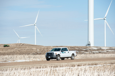 Minnesota Power chooses Siemens for 205-MW Bison 4 wind power project in the U.S. (Photo: Business W ...