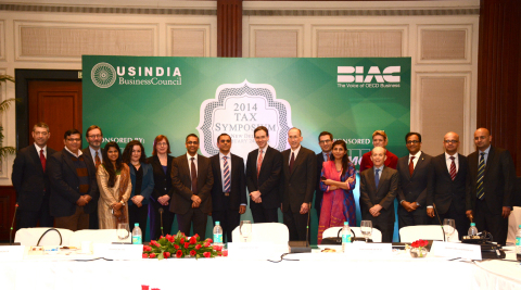 Delegates at USIBC's International Tax Symposium in New Delhi. (Photo: Business Wire)