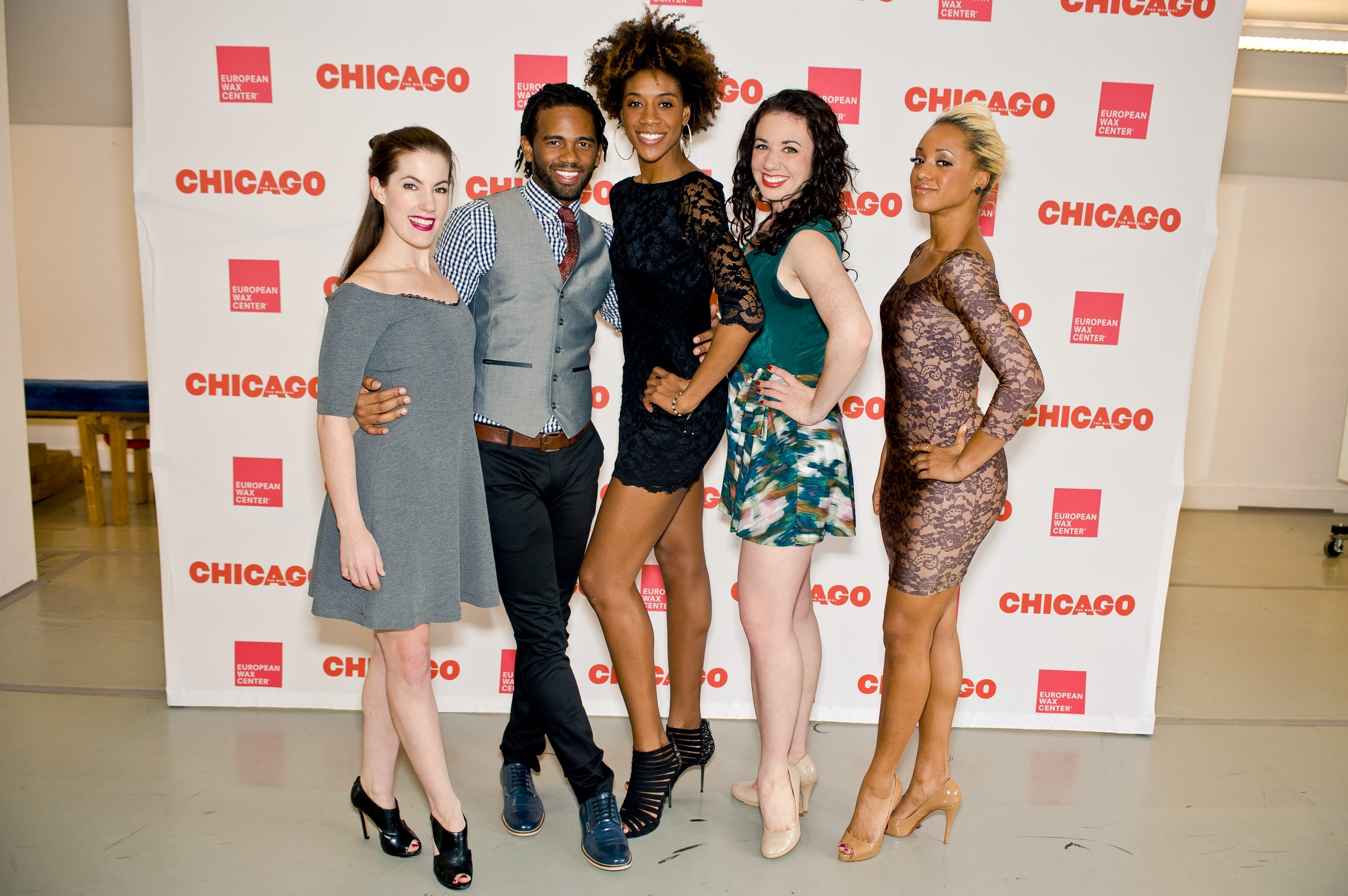 European Wax Center and CHICAGO the musical celebrate their partnership at opening night in Chicago. European Wax Center are the experts at revealing beautiful skin and who better to help showcase that then Broadway's sexiest musical, CHICAGO! The show runs from February 25th - March 2nd at the Bank of America Theatre in Chicago. (Photo: Business Wire)