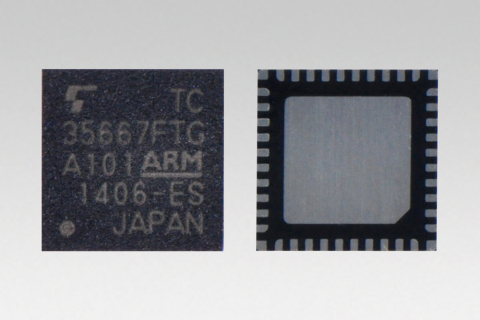 "Toshiba: ""TC35667FTG"", a low power consumption ICs for Bluetooth(R) Smart devices (Photo: Business W ..."