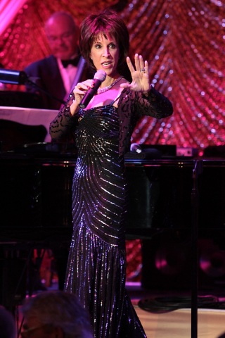 Deana Martin, internationally renowned singer and daughter of the legendary, Dean Martin, and her quintet performed at Barlow Respiratory Hospital's Barlow Express gala. (Photo: Business Wire)