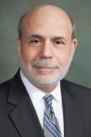 Dr. Ben S. Bernanke, former chairman of the Board of Governors of the Federal Reserve System (Photo: ...
