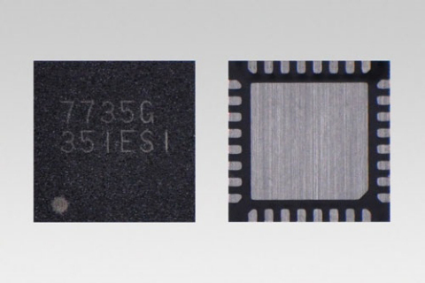 "Toshiba: ""TC7735FTG"", a system power supply IC for LCD used in car navigation systems (Photo: Busine ..."